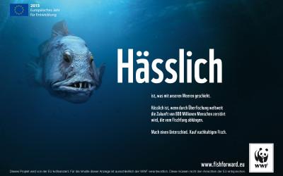 """WWF präsentiert """"hässliche"""" Werbekampagne"""