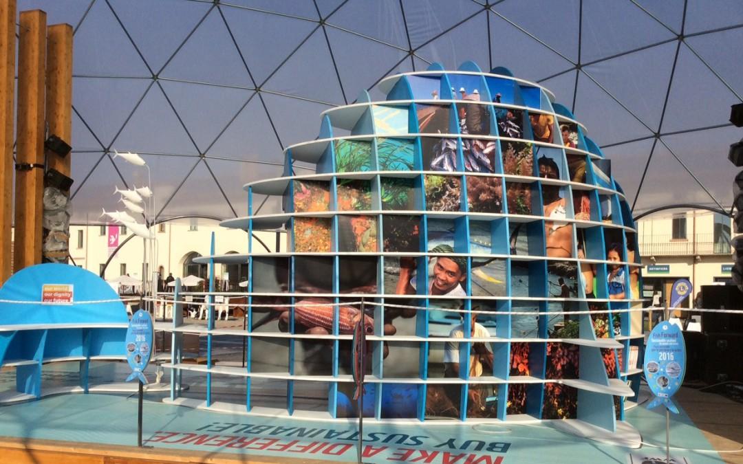 Fish Forward auf der Mailänder EXPO 2015