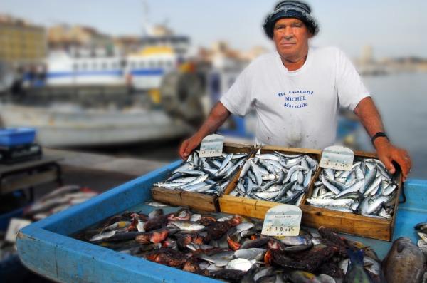 Fischerei und Produzenten