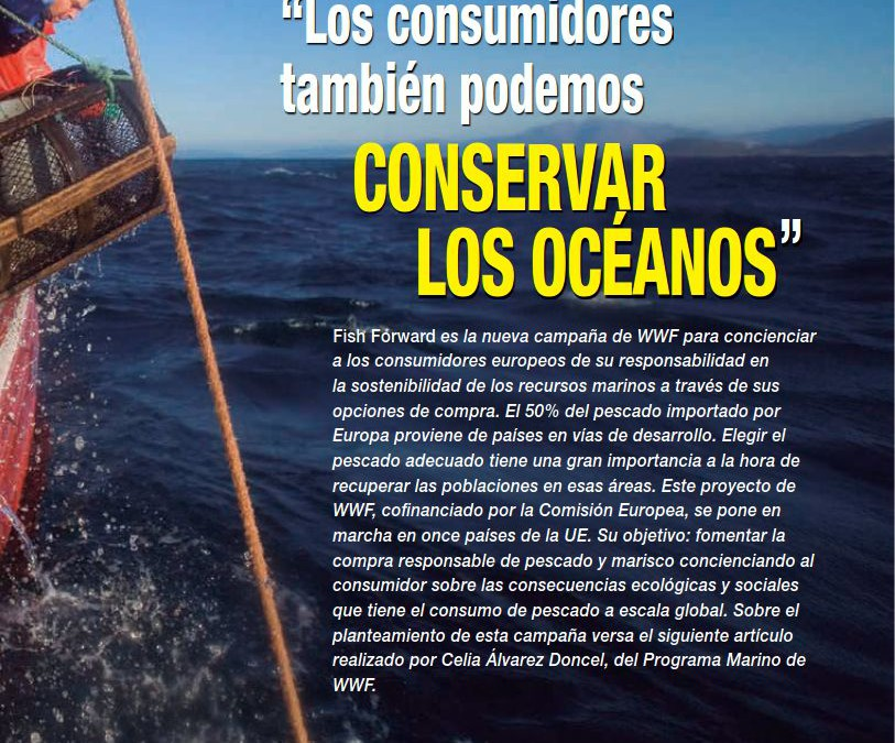 Revista Mar «Los consumidores también podemos conservar los océanos»