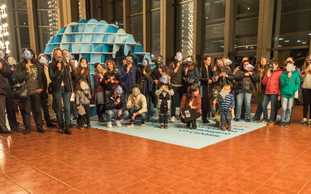 Хелоуинско парти с послание в НДК: Страшно е да си представим океани без риба