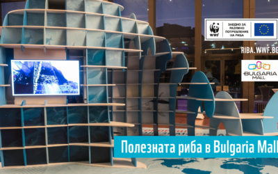 Полезната риба в Bulgaria Mall