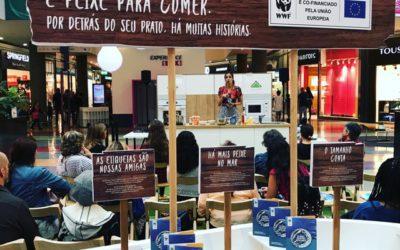 WWF: showcooking com a participação da blogger Paula Bollinger promove consumo responsável de pescado