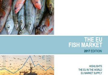 """Informe del """"Mercado pesquero de la UE"""" 2017"""