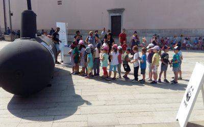 Podmornica koja prikazuje budućnost Jadrana uplovila u Poreč