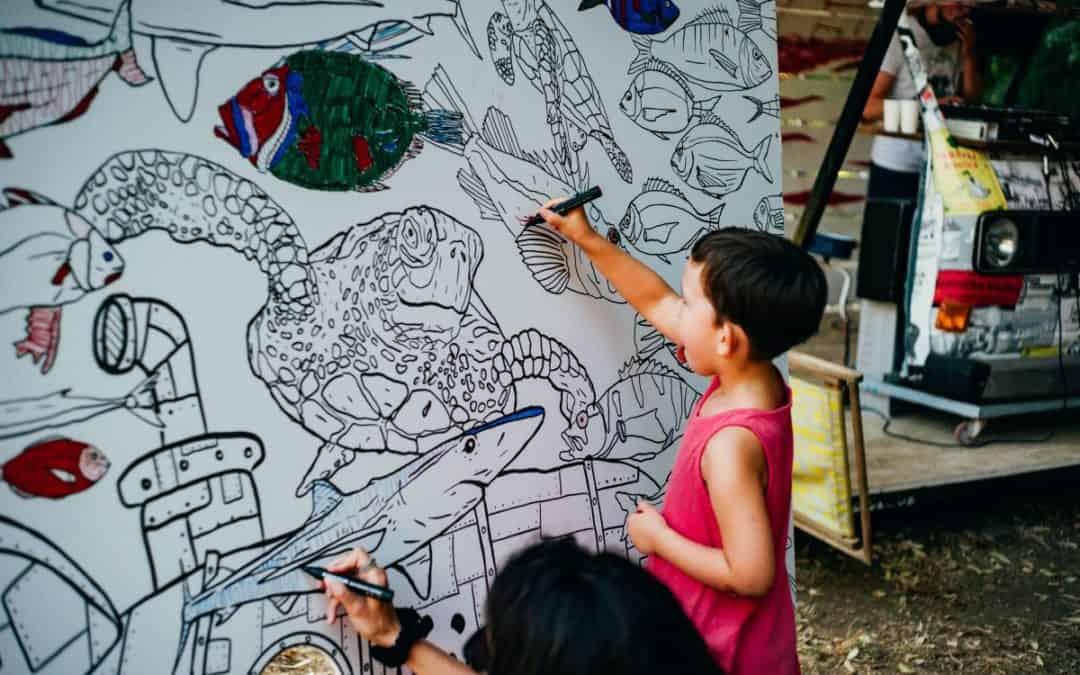 WWF Adria i Art park: Za more puno ribe!