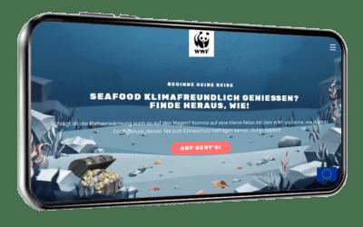 WWF Finprint-Spiel: Berechnen Sie Ihren Klima-Flossenabdruck