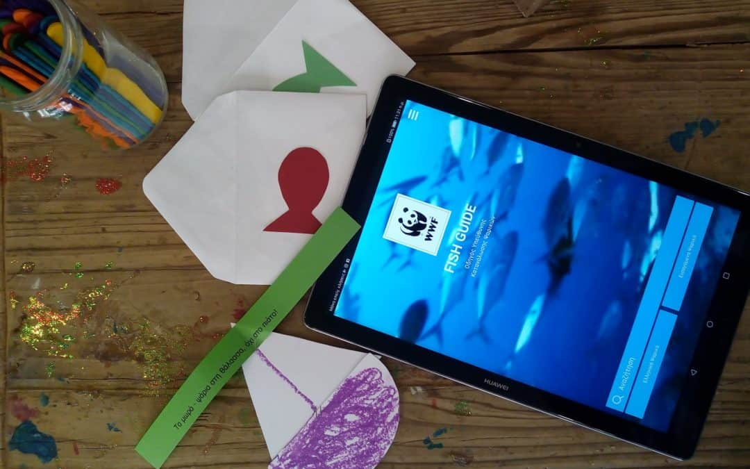 Μικροί και μεγάλοι ανακάλυψαν τα μυστικά του βυθού με το WWF Ελλάς στο παιδικό φεστιβάλ Π100