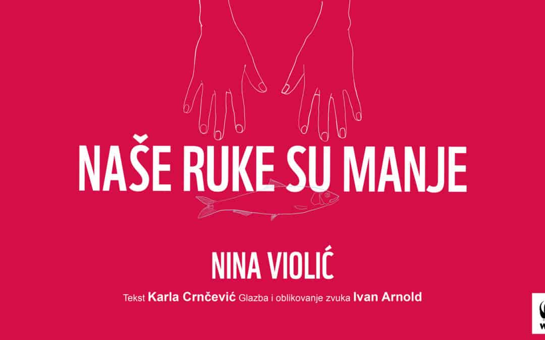 Nina Violić u znanstvenom monologu o ženama u ribarstvu